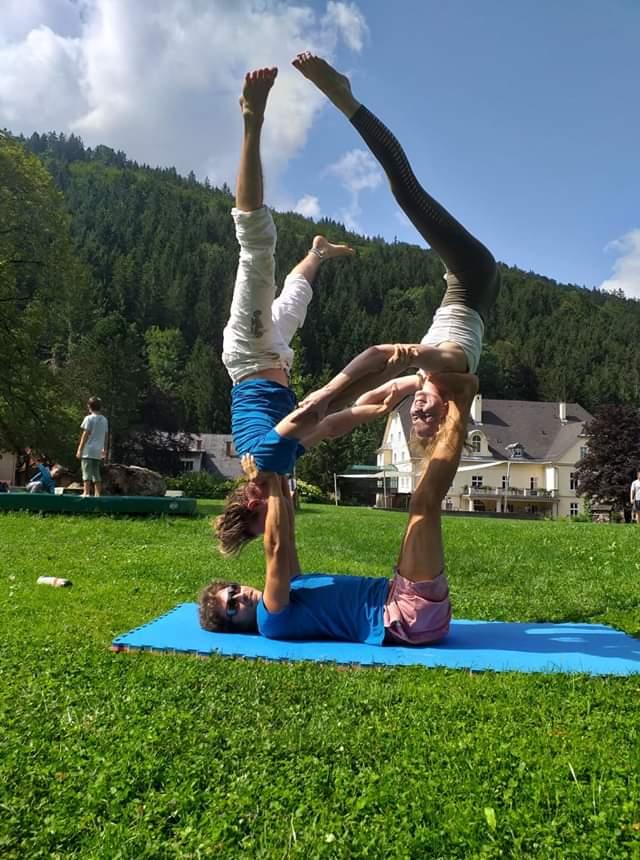 USI Sommerakademie: Partnerakrobatik und Acroyoga